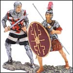 Figurines from Rome and Middle Ages