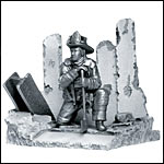 Pewter Sculptures of American Heroes