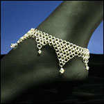 Chainmail Footwear Jewelry