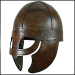 LARP Dark Age Helmets from Polyurethane Celtic,Fantasy,Spangenhelms and Sutton Hoo