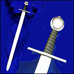 Deepeeka Stage Combat Swords, Battle Ready, Blunted-Rebated Re-enactment Swords