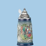 Rustik Blue Traditional Stein 143-3214