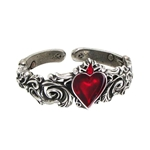 Betrothal Red Heart Bracelet 17-A89