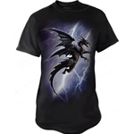 Lightning Dragon Adult T-Shirt Alchemy 17-bt734