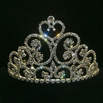 Scrolly Heart Tiara 172-11786