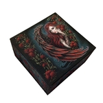 Angel and Roses Trinket Box