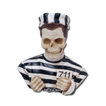 Prisoner Skeleton Bust Statue