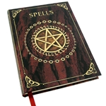 Pentagram Spell Book in Red