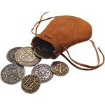 Leather Bag of Pieces of Eight