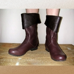 Ladies Bristol Short Leather Boots