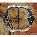 Baldric Belt Buckle with Shells 128.0913