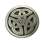 Celtic Triskelion Knot Button 107.1261