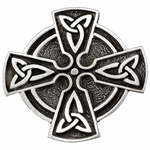 Celtic Cross Brooch with Trinity Knot 106.1448