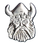 Small Pewter Viking Pin 116.0032