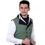 Classic Double Breasted Vest   C1323
