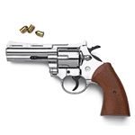 "9mm Magnum Blank Firing Revolver 4"" Barrel Nickel 24-38210"