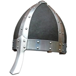 Leather Covered Norman Helmet