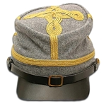 Civil War Officer's Kepi - General Blue or Gray
