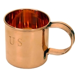 US Civil War Solid Copper Coffee Mug