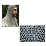 Chainmail Coif Full Mantle Square Face Code B AB2547