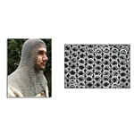 Chainmail Coif Square Face Code 5 AB2555