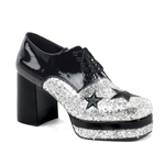Men's Glamrock Glitter Paltform Shoes