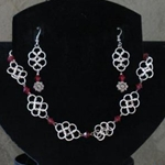 Katara Chainmail Necklace & Earring Set,Chainmail Necklace & Earring Set