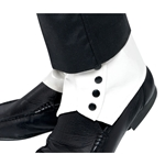 Spats White Adult 38-19723