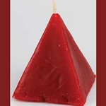Red Pyramid Candle 45-CPSCC