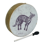 "Remo Buffalo Drum 14"" x 3.5"" Lone Coyote 47-E1-0314-13"