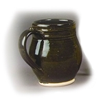 Brown Stoneware Drinking Mug 51-4687A