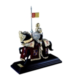 Mounted English Knight of King Arthur in Suit of Armor by Marto 56- M918.6