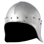 15th Century Open Faced Sallet Helm 58-0050