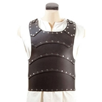Baudouin Leather Breastplate - Brown