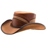 Canyon Leather Hat