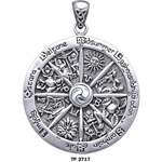 Wheel of the Year Pendant 66-TP2717