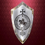 Knights Templar Decorative Shield 804255