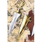 Brass Beaded Pugio Dagger