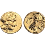 Greek Athens Gold Stater 17-ASCOIN