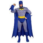 Batman Brave & Bold Deluxe Muscle Chest Adult Costume 100-180103