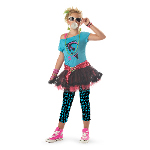 80's Valley Girl Child Costume 100-194812