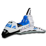 Jr. Space Explorer Child Inflatable Space Shuttle 100-215763