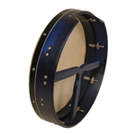 "Bodhran 16""x3.5"", Tune,  Blue, T-Bar  BTN6LT"