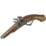Double-Barrel Flintlock Pistol of Napoleon Non-Firing FD1026