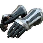 Landsknecht Gauntlets Black and White GH0201