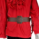 Swashbuckler Pirate Belt - Brown