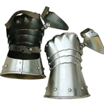 Half Gauntlets Steel MD-1004