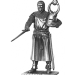 Sir Sagremor and Chair Pewter Sculpture