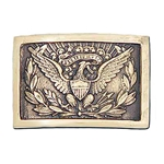 U.S. Officers Belt Buckle 1851