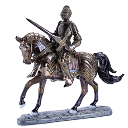 Mounted Knight Statue